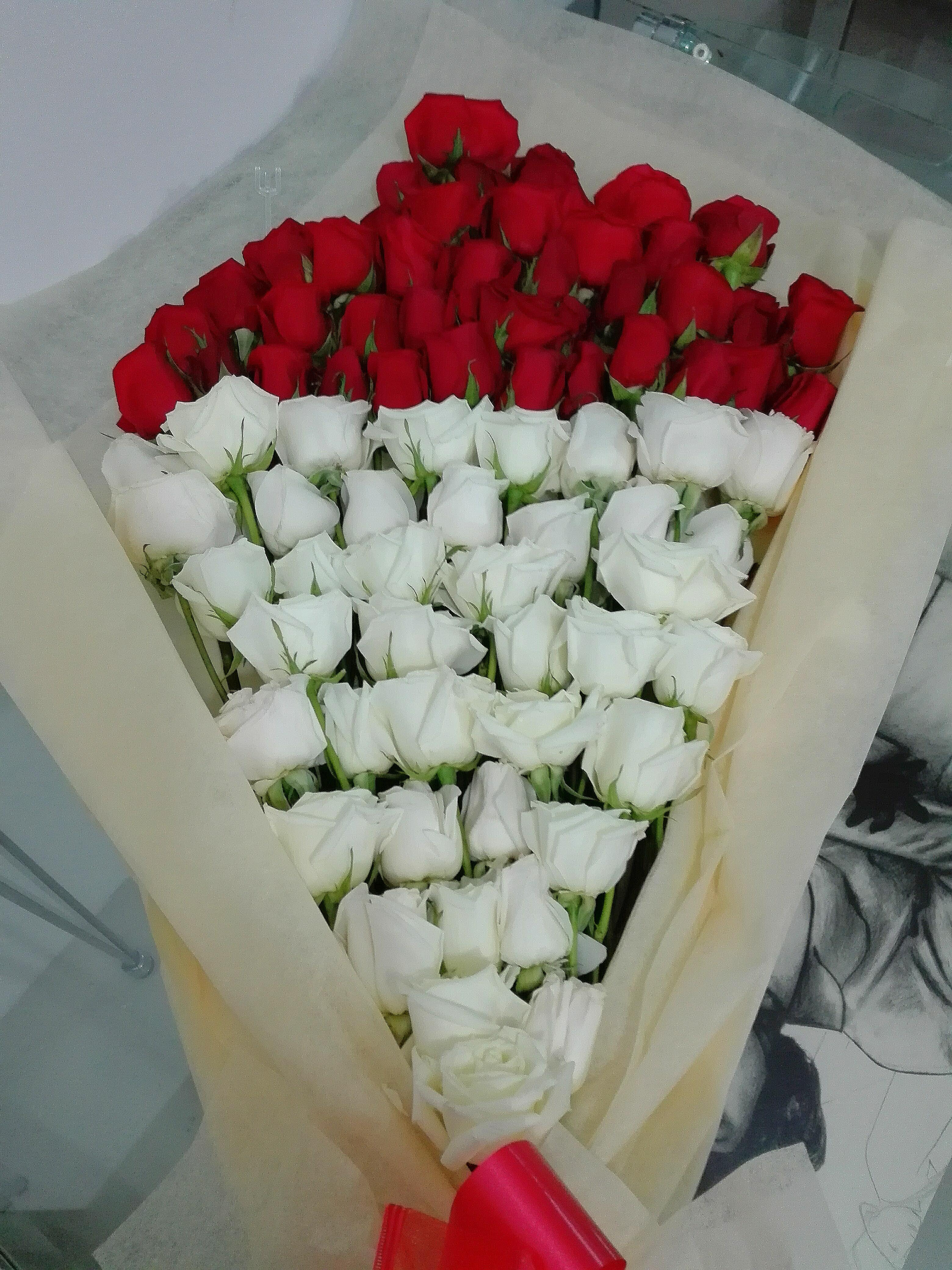 Precioso Bouquet  extralarge en rosas